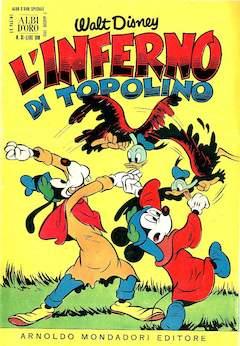 Copertina ALBO D'ORO ANNO 1955 n.31 - L'Inferno di Topolino, MONDADORI EDITORE