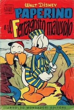 Copertina ALBO D'ORO ANNO 1955 n.32 - Paperino e il Ferragosto maiuscolo, MONDADORI EDITORE
