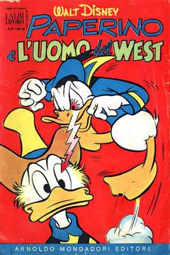 Copertina ALBO D'ORO ANNO 1955 n.34 - Paperino e l'uomo del West, MONDADORI EDITORE