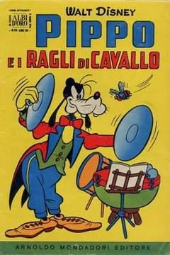 Copertina ALBO D'ORO ANNO 1956 n.10 - Pippo e i ragli di cavallo, MONDADORI EDITORE