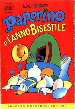 Copertina ALBO D'ORO ANNO 1956 n.16 - Paperino e l'anno bisestile, MONDADORI EDITORE