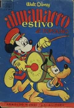 Copertina ALBO D'ORO ANNO 1956 n.28 - Almanacco estivo di Topolino, MONDADORI EDITORE