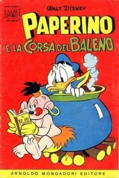 Copertina ALBO D'ORO ANNO 1956 n.36 - Paperino e la corsa del baleno, MONDADORI EDITORE
