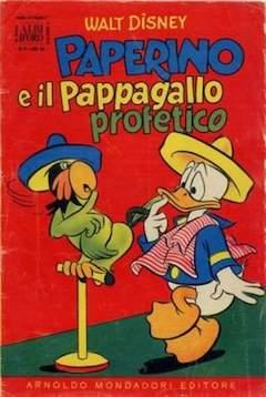 Copertina ALBO D'ORO ANNO 1956 n.9 - Paperino e il pappagallo profetico, MONDADORI EDITORE