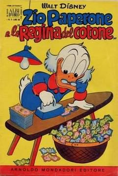 Copertina ALBO D'ORO ANNO 1956 n.2 - Zio Paperone e la Regina del Cotone, MONDADORI EDITORE