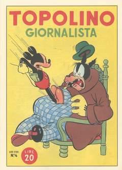 Copertina ALBO D'ORO n.4 - Topolino giornalista, MONDADORI EDITORE