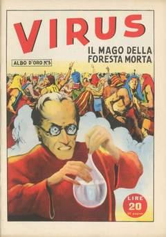 Copertina ALBO D'ORO n.5 - Topolino e la mano ghiacciata, MONDADORI EDITORE