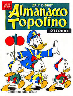 Copertina ALMANACCO TOPOLINO n.10 - ALMANACCO TOPOLINO  10, MONDADORI EDITORE