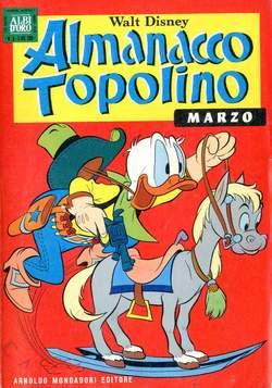 Copertina ALMANACCO TOPOLINO n.135 - ALMANACCO TOPOLINO         135, MONDADORI EDITORE