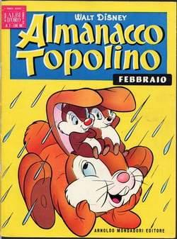 Copertina ALMANACCO TOPOLINO n.14 - ALMANACCO TOPOLINO 14, MONDADORI EDITORE