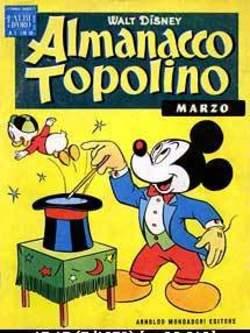 Copertina ALMANACCO TOPOLINO n.15 - ALMANACCO TOPOLINO 15, MONDADORI EDITORE
