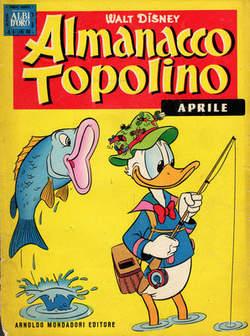 Copertina ALMANACCO TOPOLINO n.16 - ALMANACCO TOPOLINO 16, MONDADORI EDITORE