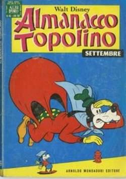 Copertina ALMANACCO TOPOLINO n.165 - ALMANACCO TOPOLINO         165, MONDADORI EDITORE