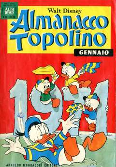Copertina ALMANACCO TOPOLINO n.169 - ALMANACCO TOP.1971, MONDADORI EDITORE