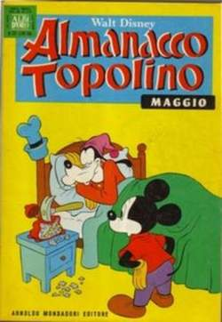 Copertina ALMANACCO TOPOLINO n.173 - ALMANACCO TOPOLINO         173, MONDADORI EDITORE