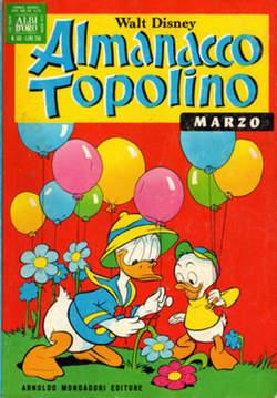 Copertina ALMANACCO TOPOLINO n.183 - ALMANACCO TOPOLINO         183, MONDADORI EDITORE