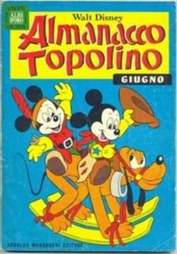 Copertina ALMANACCO TOPOLINO n.186 - ALMANACCO TOPOLINO         186, MONDADORI EDITORE