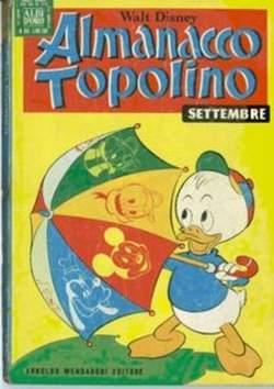 Copertina ALMANACCO TOPOLINO n.189 - ALMANACCO TOPOLINO         189, MONDADORI EDITORE
