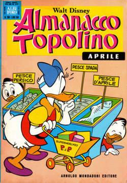 Copertina ALMANACCO TOPOLINO n.208 - ALMANACCO TOPOLINO         208, MONDADORI EDITORE