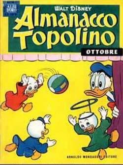 Copertina ALMANACCO TOPOLINO n.22 - ALMANACCO TOPOLINO 22, MONDADORI EDITORE