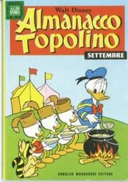 Copertina ALMANACCO TOPOLINO n.225 - ALMANACCO TOPOLINO         225, MONDADORI EDITORE