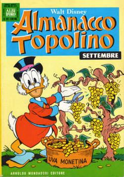 Copertina ALMANACCO TOPOLINO n.237 - ALMANACCO TOPOLINO         237, MONDADORI EDITORE
