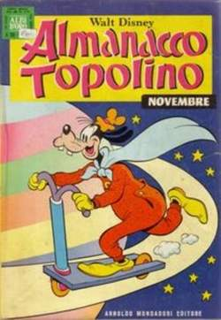Copertina ALMANACCO TOPOLINO n.239 - ALMANACCO TOPOLINO         239, MONDADORI EDITORE