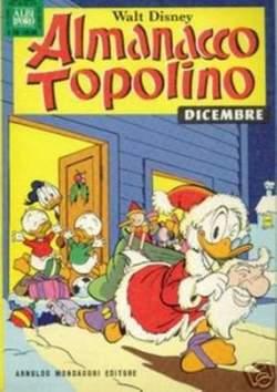 Copertina ALMANACCO TOPOLINO n.240 - ALMANACCO TOPOLINO         240, MONDADORI EDITORE