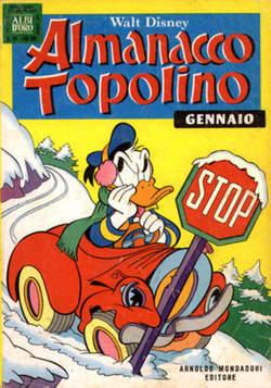 Copertina ALMANACCO TOPOLINO n.241 - ALMANACCO TOPOLINO         241, MONDADORI EDITORE