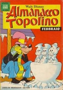 MONDADORI EDITORE - ALMANACCO TOPOLINO
