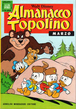 Copertina ALMANACCO TOPOLINO n.243 - ALMANACCO TOPOLINO         243, MONDADORI EDITORE