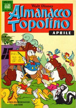 Copertina ALMANACCO TOPOLINO n.244 - ALMANACCO TOPOLINO         244, MONDADORI EDITORE