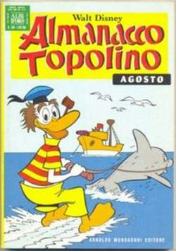 Copertina ALMANACCO TOPOLINO n.248 - ALMANACCO TOPOLINO         248, MONDADORI EDITORE
