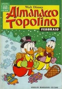 Copertina ALMANACCO TOPOLINO n.254 - ALMANACCO TOPOLINO         254, MONDADORI EDITORE