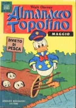 Copertina ALMANACCO TOPOLINO n.257 - ALMANACCO TOPOLINO         257, MONDADORI EDITORE