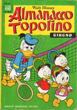 Copertina ALMANACCO TOPOLINO n.258 - ALMANACCO TOPOLINO         258, MONDADORI EDITORE