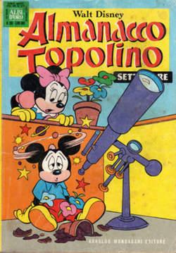 Copertina ALMANACCO TOPOLINO n.261 - ALMANACCO TOPOLINO         261, MONDADORI EDITORE
