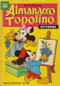 Copertina ALMANACCO TOPOLINO n.262 - ALMANACCO TOPOLINO         262, MONDADORI EDITORE