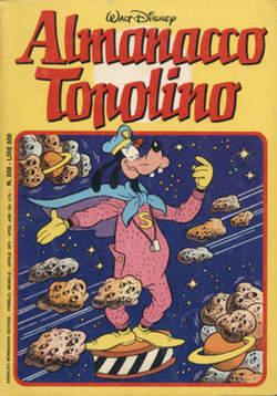 Copertina ALMANACCO TOPOLINO n.268 - ALMANACCO TOPOLINO         268, MONDADORI EDITORE