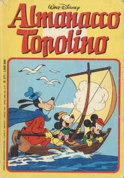 Copertina ALMANACCO TOPOLINO n.271 - ALMANACCO TOPOLINO         271, MONDADORI EDITORE