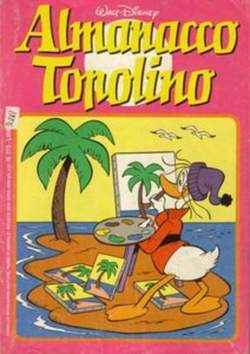 Copertina ALMANACCO TOPOLINO n.272 - ALMANACCO TOPOLINO         272, MONDADORI EDITORE