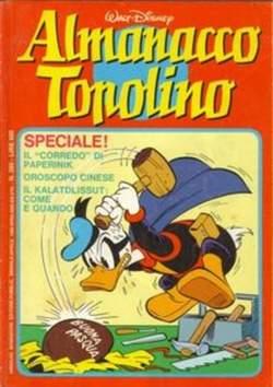 Copertina ALMANACCO TOPOLINO n.280 - ALMANACCO TOPOLINO         280, MONDADORI EDITORE
