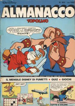 Copertina ALMANACCO TOPOLINO n.303 - ALMANACCO TOPOLINO         303, MONDADORI EDITORE