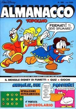 Copertina ALMANACCO TOPOLINO n.308 - ALMANACCO TOPOLINO         308, MONDADORI EDITORE