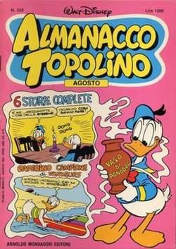Copertina ALMANACCO TOPOLINO n.320 - ALMANACCO TOPOLINO         320, MONDADORI EDITORE