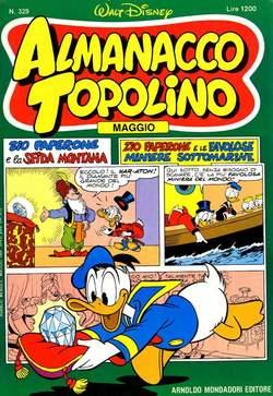 Copertina ALMANACCO TOPOLINO n.329 - ALMANACCO TOPOLINO         329, MONDADORI EDITORE