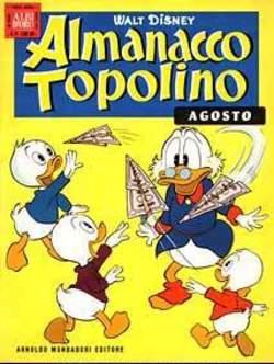 Copertina ALMANACCO TOPOLINO n.44 - ALMANACCO TOPOLINO 44, MONDADORI EDITORE
