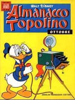 Copertina ALMANACCO TOPOLINO n.46 - ALMANACCO TOPOLINO 46, MONDADORI EDITORE