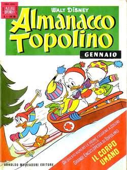 Copertina ALMANACCO TOPOLINO n.49 - ALMANACCO TOPOLINO 49, MONDADORI EDITORE
