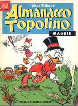Copertina ALMANACCO TOPOLINO n.53 - ALMANACCO TOPOLINO 53, MONDADORI EDITORE
